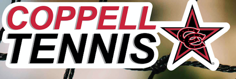 Personalized Coppell Tennis Decal